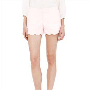 Club Monaco Amber Scalloped Shorts
